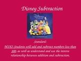 Disney Subtraction PowerPoint