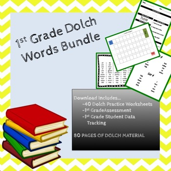 1st Grade Dolch Sight Word Bundle