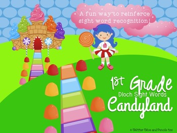 1st Grade Dolch Sight Word Candyland