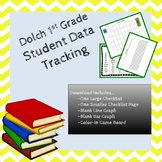 1st Grade Dolch Sight Word Student Data Tracking Bundle