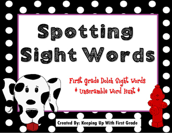 1st Grade Dolch Sight Words