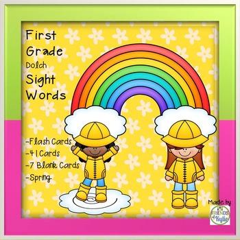 1st Grade Dolch Sight Words (Full Set)