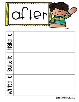 1st Grade Dolch Sight Words: Make it, build it, write it