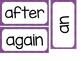 1st Grade Dolch Sight Words ~ Purple Polka Dot