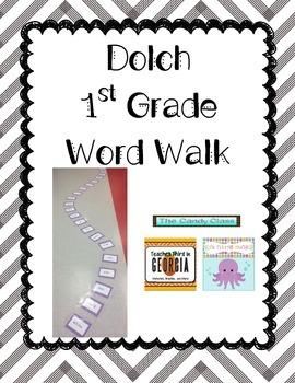 1st Grade Dolch Word Walk