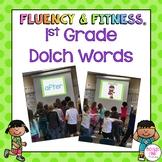 Dolch 1st Grade Sight Words Fluency & Fitness® Brain Breaks