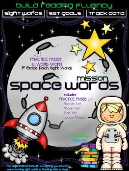 Sight Words {NO-PREP} Practice Pages & Word Work for 1st Grade Dolch Words