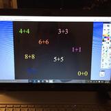 1st Grade Double fact flip chart