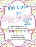 1st Grade ELA- 100 Days to CCSS Success- Daily Review