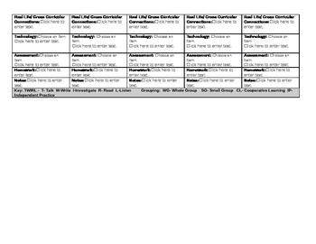 1st Grade ELA Common Core Lesson Plan