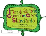 """1st Grade ELA Common Core Standards & """"I Can"""" Statements f"""