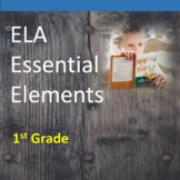 1st Grade ELA Essential Elements for Cognitive Disabilitie