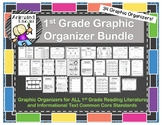 1st Grade ELA Graphic Organizers Yearlong Set