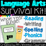 1st Grade ELA Survival Kit! Whole Year!!!