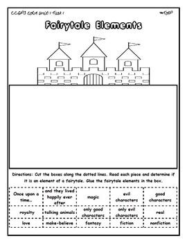 1st Grade ELA Unit 1 Tasks Files