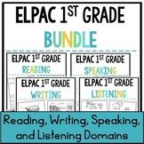 1st Grade ELPAC Practice Bundle