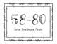 1st Grade EOY Nonsense Word *Sounds* Growth Goal Clip Chart