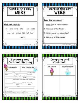 1st Grade ESL Sight Word Unit