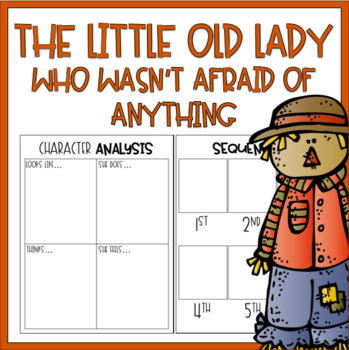 The Little Old Lady Who Was Not Afraid of Anything / Read Aloud Book Companion