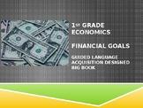 1st Grade Economics Financial Goals Big Book