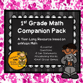1st Grade EnVision Math Resource Pack