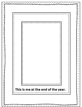 1st Grade End of Year Memory Book