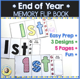 End of Year Memory Flip Book Activity 1st Grade