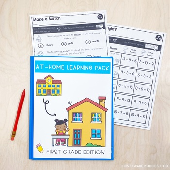 1st Grade End of Year Review | Summer Activities | Assessments | No Prep