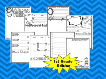 First (1st) Grade End of the Year Flip-Flap Book