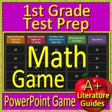 1st Grade Beginning of the Year Activities - Math Game and Test Prep