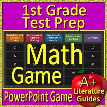 1st Grade Test Prep Activities - Math Game