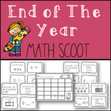 1st Grade - End of the Year Math Scoot
