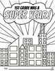1st Grade End of the Year Memory Book & Craft {Superhero Themed}