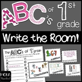 1st Grade End of the Year Review - Write the Room