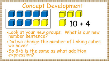 1st Grade Engage NY/Eureka Math Module 2 Topic A Part 2 Interactive PowerPoints