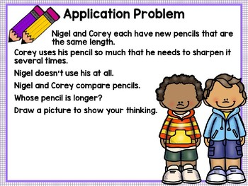 Engage NY (Eureka Math) Presentation 1st Grade Module 3 Lesson 1
