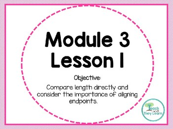 Engage NY Math Smart Board 1st Grade Module 3 Lesson 1