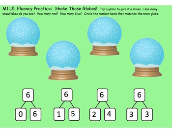 1st Grade Engage NY Module 1, Topic B lessons (4-8) for your SmartBoard!