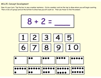 1st Grade Engage NY Module 1, Topic D lessons (14-16) for your SmartBoard!