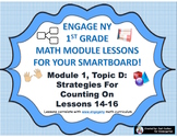 1st Grade Engage NY Module 1, Topic D lessons (14-16) for