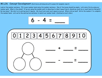 1st Grade Engage NY Module 1, Topic G lessons (25-27) for your SmartBoard!