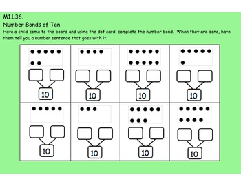 1st Grade Engage NY Module 1, Topic I lessons (33-37) for your SmartBoard!