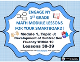 1st Grade Engage NY Module 1, Topic J lessons (38-39) for