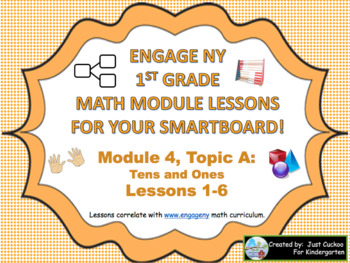 1st Grade Engage NY Module 4, Topic A lessons (1-6) for your SmartBoard!
