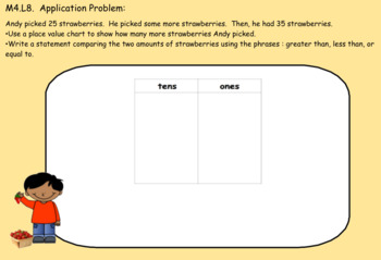 1st Grade Engage NY Module 4, Topic B lessons (7-10) for your SmartBoard!