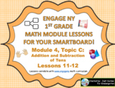 1st Grade Engage NY Module 4, Topic C lessons (11-12) for
