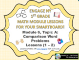 1st Grade Engage NY Module 6, Topic A lessons (1-2) for yo