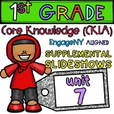 1st Grade Skills PowerPoints, Unit 7 (ALIGNED to EngageNY