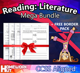 1st Grade English Reading: Literature ( CCSS Aligned / MEGA BUNDLE )