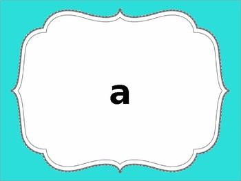 1st Grade English Site Word Slides